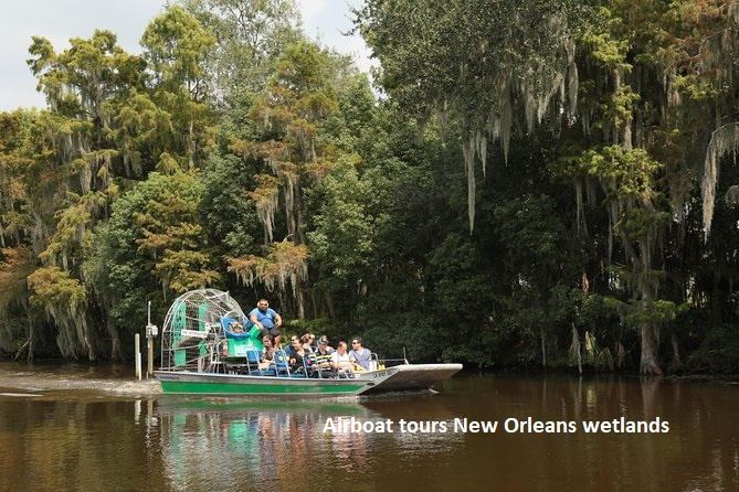 Airboat tours New Orleans