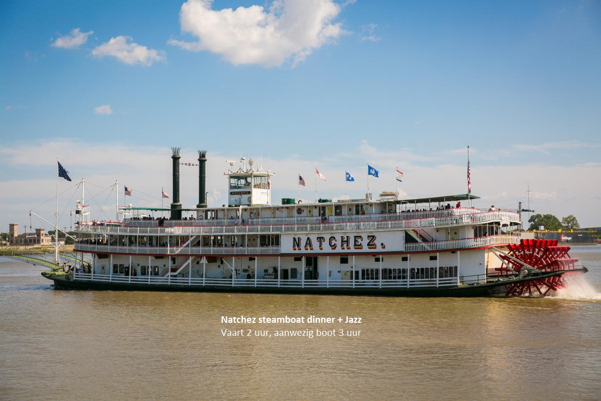 Natchez dinner + jazz cruise